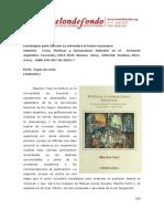 Estrategias Para Conocer y Entender El Teatro Tucumano
