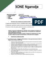 CV DOBONE
