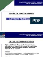 Presentaciones - Emprendedores e Innovación