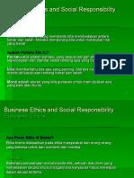 Etika Bisnis Dan Social Responsibility