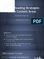 active reading strategies in the content areas