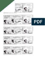 Charge Mafalda Sobre Sujeito