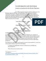 Independent Alternatives Analysis draft