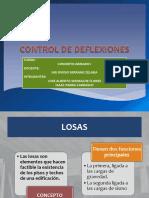 Control de Deflexion