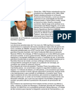Biografía de Francisco Flores