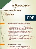 demofamous renaissance artworks and artists full