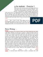 Précis Writing EXAMPE