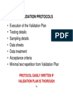 Validation Protocols, Results, And Reports