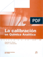 La Calibracion en Quimica Analitica