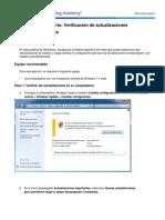 5.2.1.10Lab CheckforUpdatesinWindows7andVista.doc