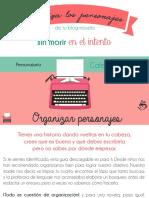 Personajario Cafetera de Letras