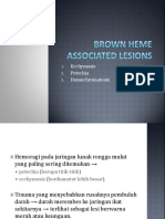 Brown Heme Associated Lesions