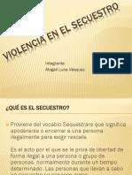 violencia en el secuestro