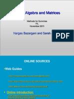 mfd2011_LinearAlgebra