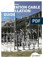 Substation Cable Installation Guide