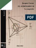 El Seminario 10. La angustia [Versión crítica].pdf