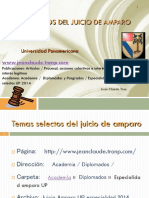 Juicio Amparo UP Especialidad 2014 (PPTminimizer)