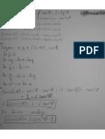 BIZU (Identidade Trigonometrica e Ln)