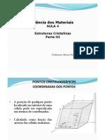 Aula 04 -Estrutura Cristalina.pdf