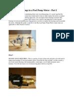 Replace the Bearings in a Pool Pump Motor-1