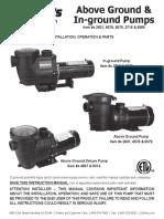 doheny pool pumps swimming pool pump rh scribd com Pool Pump Switch Wiring Diagram 2 HP Pool Pump Wiring Diagram