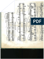 Analysis of Debussy's Sunken Cathedrals A and B material