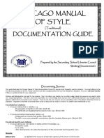 Chicago manual of style-document guide. Pdf | citation | publishing.