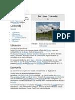 Ecorregion Los Llanos