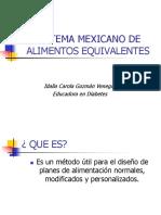 Sistema Mexicano de Equivalentes (1)