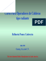 Curso Operacion Caldera Radiante