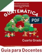 GUÍA DE MATEMÁTICAS PARA EL DOCENTE