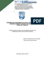 Parametros Fundamentales para Iluminacion