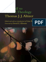299871263 Thomas J J Altizer the Call to Radical Theology 1