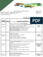 Organizacion y Metodo i Plan de Evaluacion