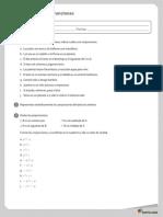 Taller de Lógica Conjunciones y Disyunciones