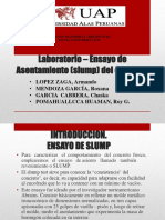 Laboratorio Ensayo de Asentamiento Slump1