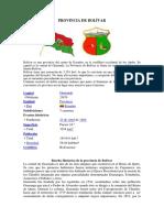 Provincia de Bolivar