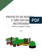 Proyecto de Huerta