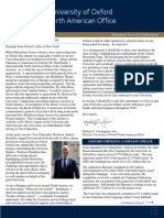 North American Office Newsletter - Michaelmas 2009