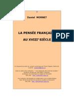 La Pensee Francaise Au 18eme Siecle