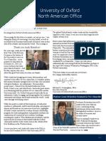 North American Alumni Newsletter - Trinity 2015