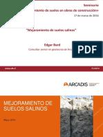 Mejoramiento en Suelos Salinos Edgar Bard Arcadis