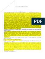 Lista 1 Macro II Fechada - Gabarito