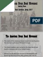 American Brass Band Movement