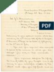 Letter From James Barnes to Joshua L. Chamberlain September 1 1