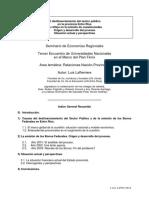 2003-10 Desfinanciamiento Del Estado Entrerriano