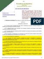 Lei Nº 12.815, De 5 de Junho de 2013 - Lei Dos Portos