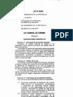 Ley General de Turismo Ley 29408