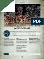 Aos Warscroll Skaven Warlord It