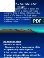 2) Medical Aspects of Death.
